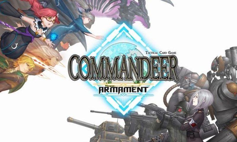 Commandeer Armament เกมการ์ดสัญชาติไทย เล็ง CBT 19 มกรานี้