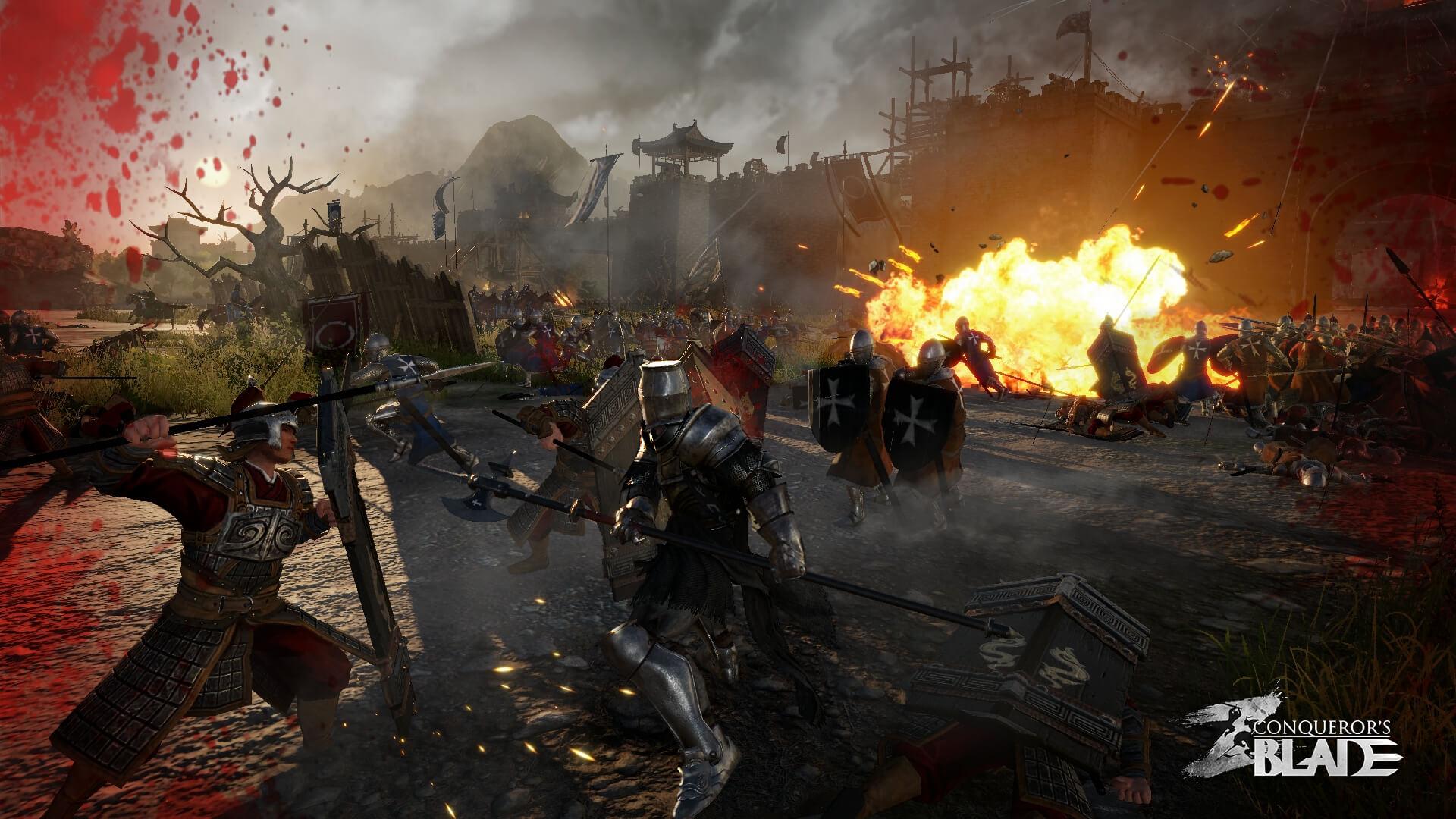 Conquerors Blade beta 01