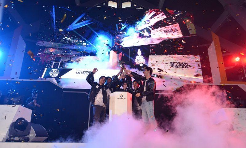 จุฬาฯ คว้าแชมป์ Overwatch Thailand University Tournament 2017 ระดับมหาลัย