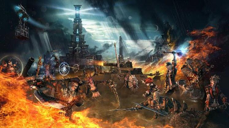 TERA Online ยุทธการศึกชิงปราการเหล็ก Corsair's Stronghold