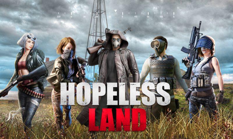โดดร่มกัน Hopeless Land เกมมือถือสไตล์ PUBG เปิด CBT บน Android แล้ว