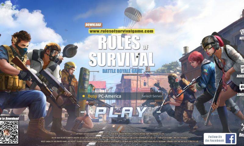 คอมเก่าก็เก๋าได้ Rules of Survival PC เกมเอาตัวรอด Battle Royale เล่นฟรีบน PC