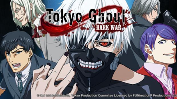 รีวิวเกม Tokyo Ghoul : Dark War สงครามกูลฉบับมือถือ