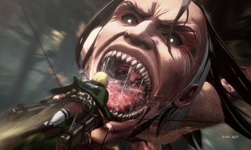 Attack on Titan 2 อวดเกมเพลย์แรกโหมดเนื้อเรื่อง Co-op สุดมันส์