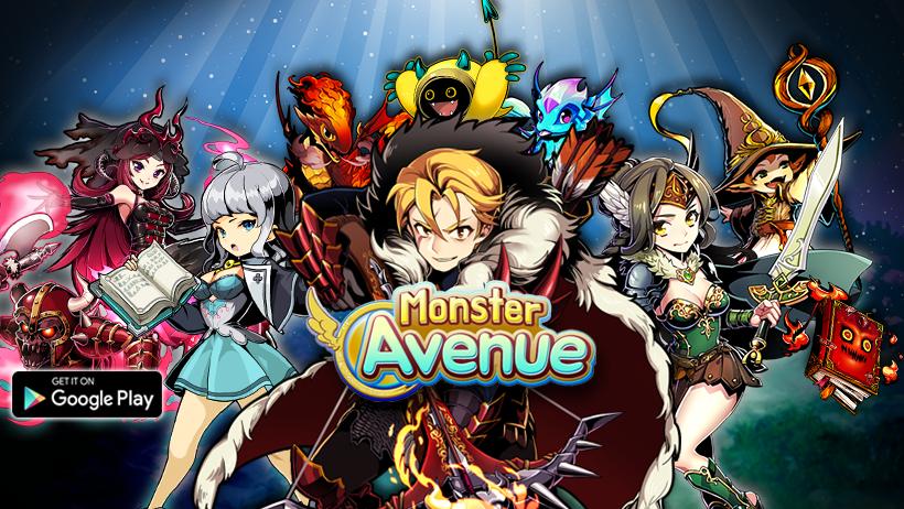 Monster Avenue เกมการ์ด RPG เปิดให้ผจญภัยแบบบอร์ดเกมบน Android แล้ว