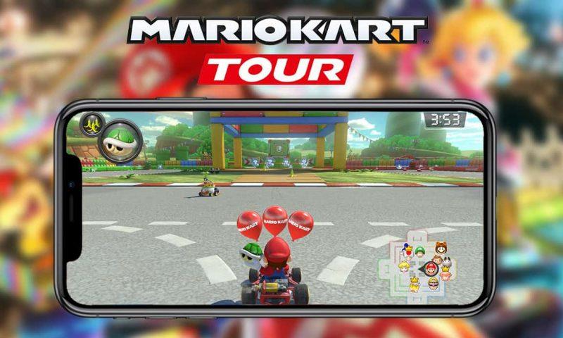 Nintendo จับลุงหนวดมาซิ่งบนมือถือใน Mario Kart Tour