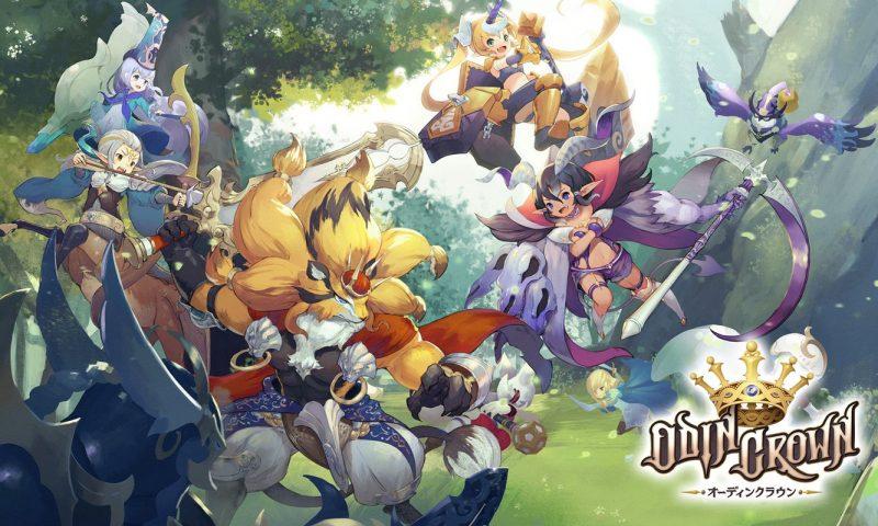 มีความเมะมาก Odin Crown เกม RPG สไตล์ MOBA ลงสโตร์แล้วจ้า