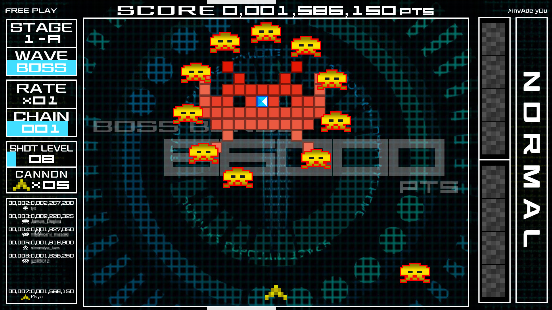 space invaders extreme 03