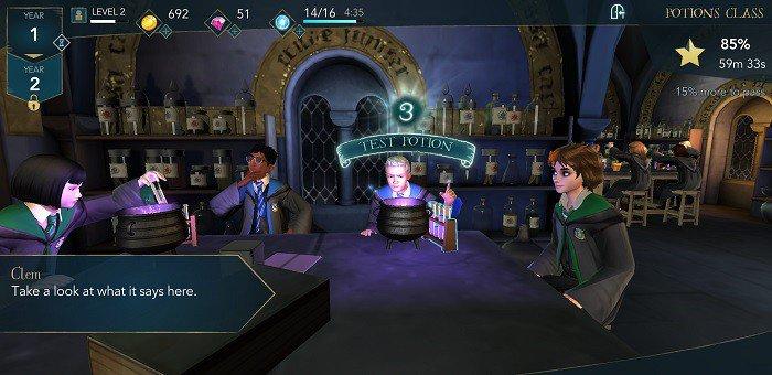 Hogwarts Mystery march18