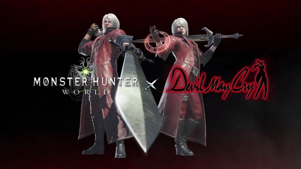 Monster Hunter World x Devil May Cry 00