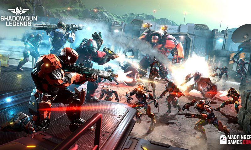 Shadowgun Legends โคตรเกมยิง Unreal 4 เปิดโหลดแล้วจ้า