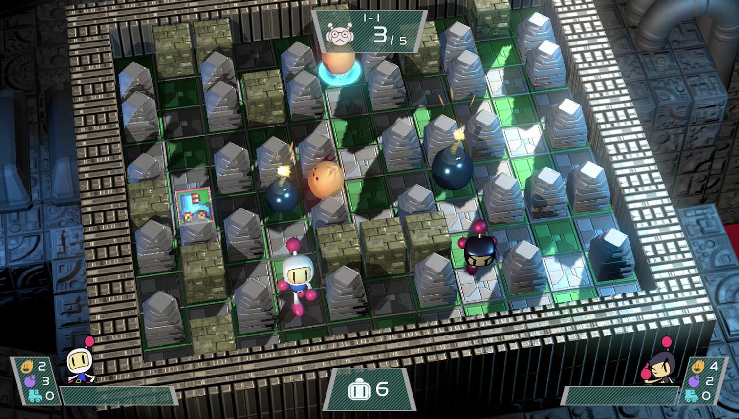Super Bomberman R 001