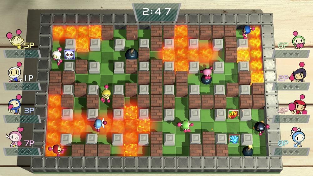 Super Bomberman R 002