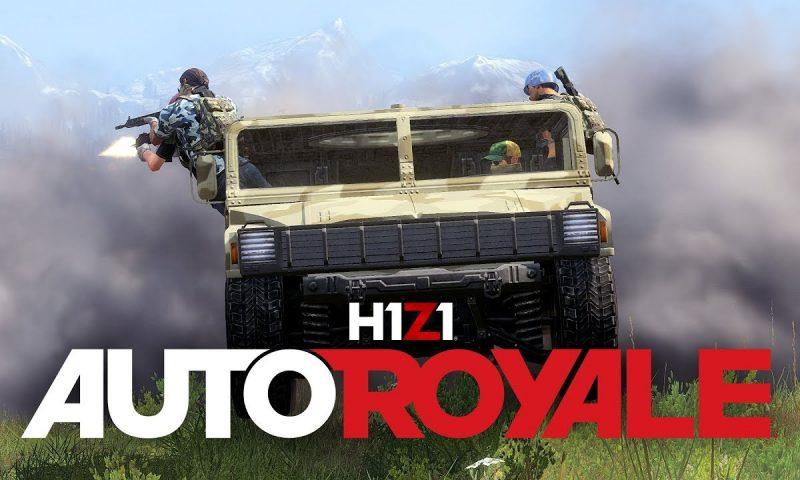 ยอมได้ที่ไหน H1Z1 อัพเดทโหมดไล่ล่าเอาตัวรอด Auto Royale