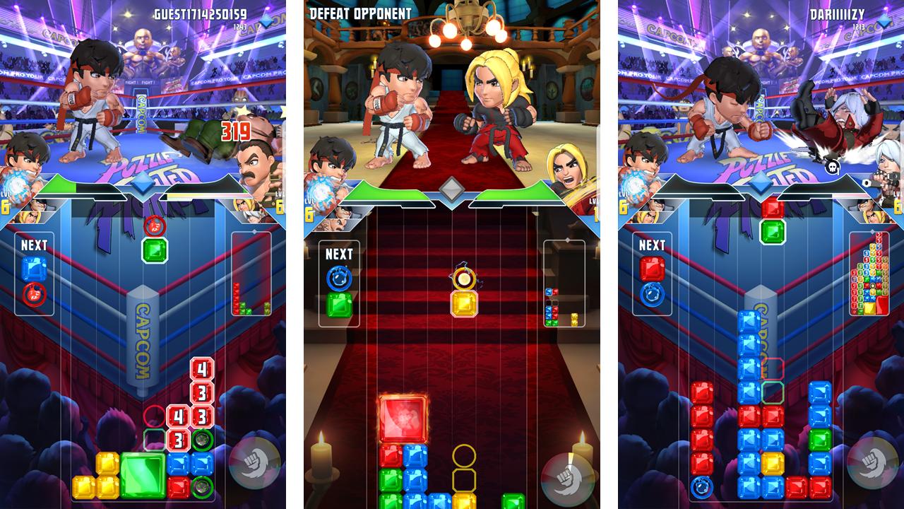 Capcom Puzzle Fighter 00