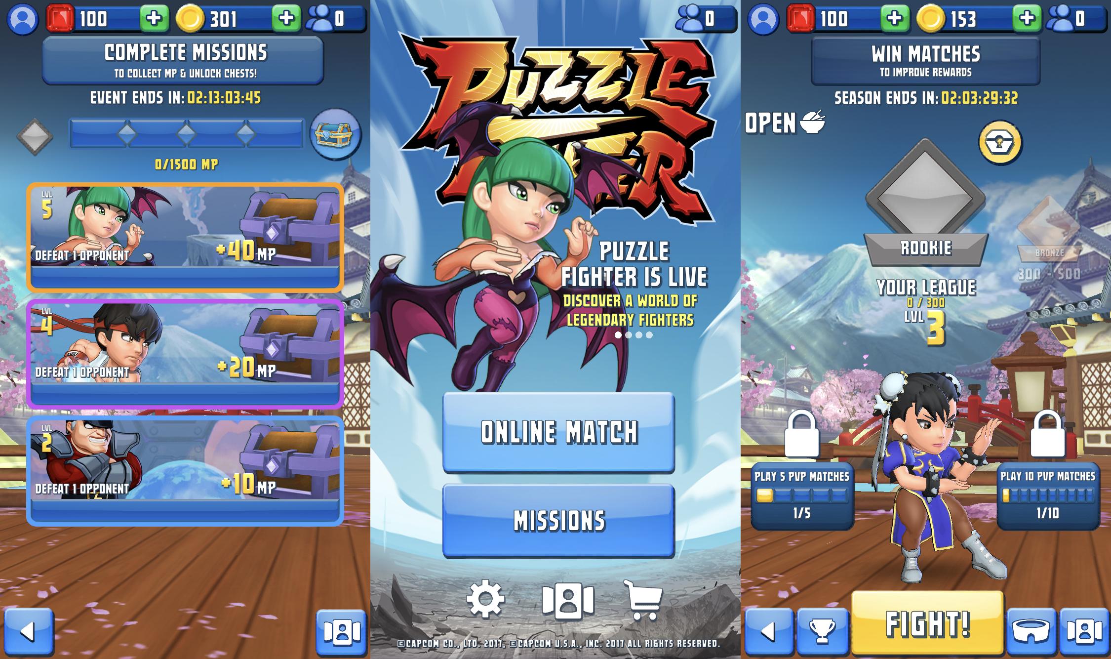 Capcom Puzzle Fighter 01