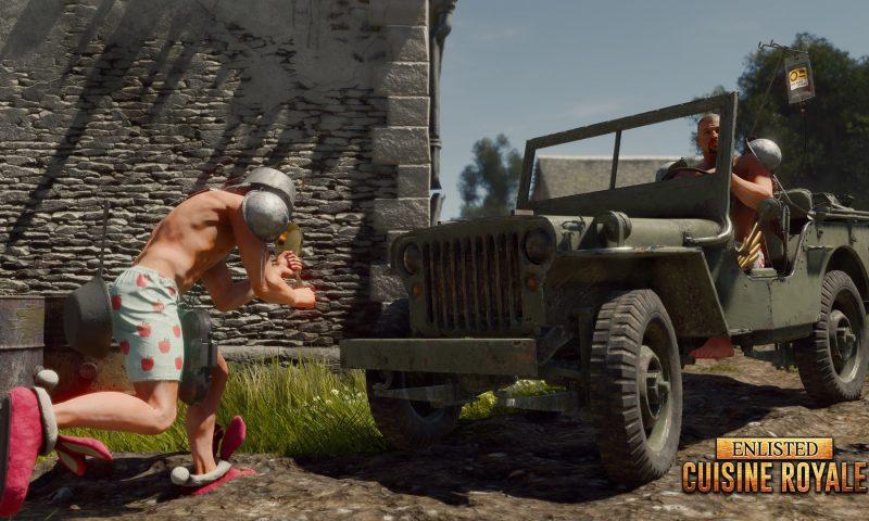 Cuisine Royale เกมดวลกระทะ Battle Royale สุดแหวกจากผู้สร้าง Enlisted