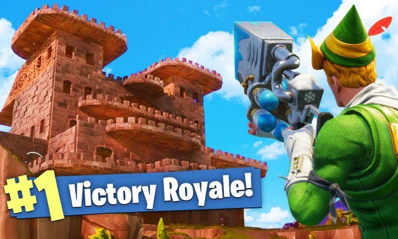 Fortnite Battle Royale เทคนิคอยากเทพต้อง Build สิ่งปลูกสร้างเก่ง