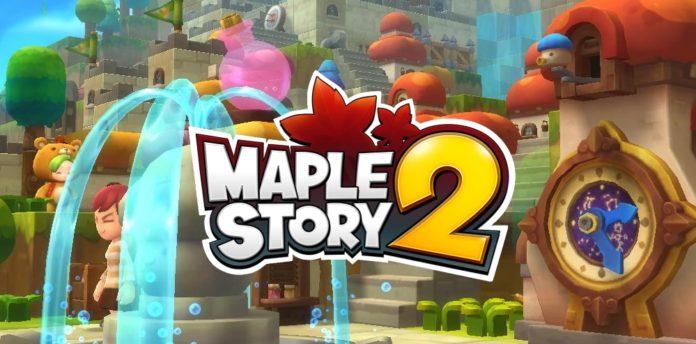MapleStory 2 logo inter
