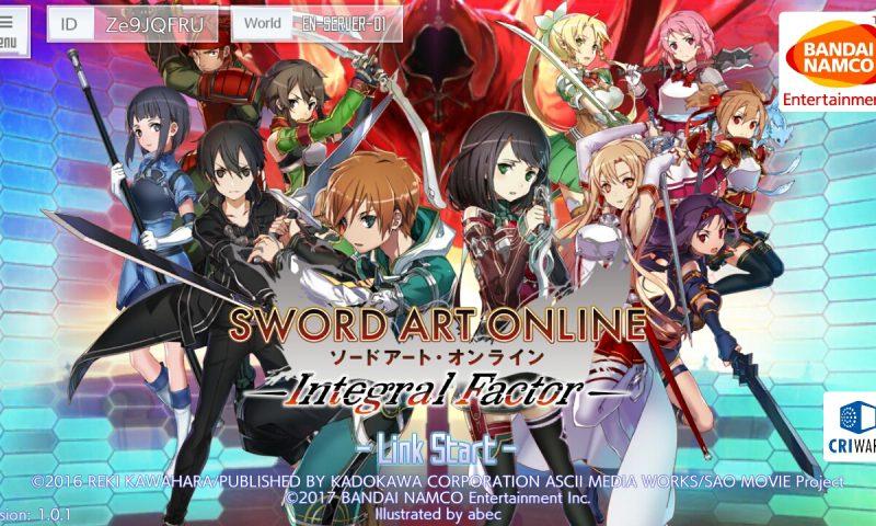 รีวิวเกม Sword Art Online: Integral Factor ที่สุดของซีรี่ย์เกม SAO