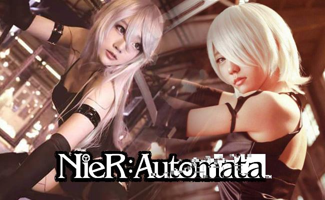 โอ๊ย เลือกไม่ถูกเลย คอสเพลย์สาว A2 สุดซี้ดใจสั่นจาก NieR: Automata