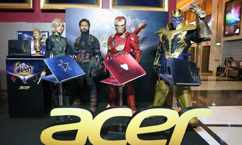 ACER เปิดตัวโน้ตบุ๊ค Marvel's Avengers Infinity War ลิมิเต็ดทั้ง 3 รุ่น