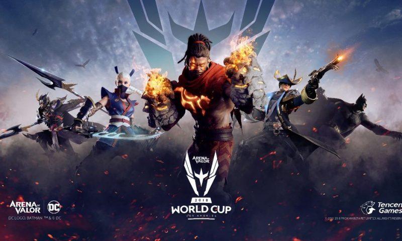 RoV จัดแข่ง Arena of Valor World Cup 2018 (AWC) ในอเมริกาชิงเงินรางวัล 17 ล้าน
