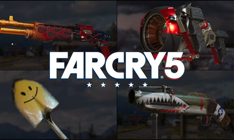 Far Cry 5 แนะนำ 9 อาวุธสุดเจ๋ง ใช้ได้ใช้ดีในเกม