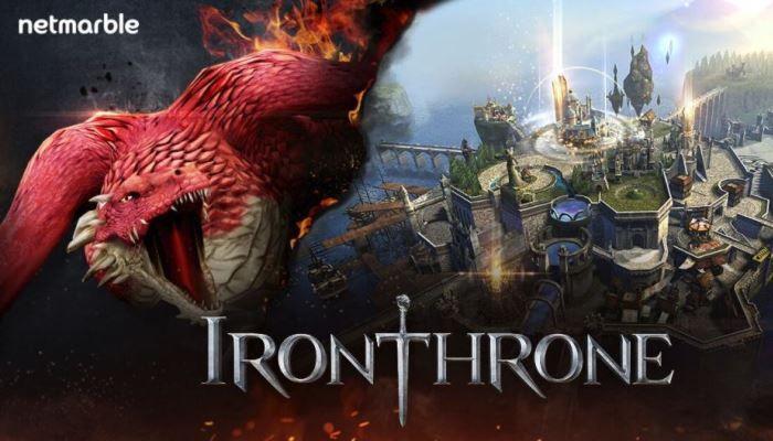 สนมั้ย Iron Throne เกม MMO strategy มาใหม่จาก Netmarble