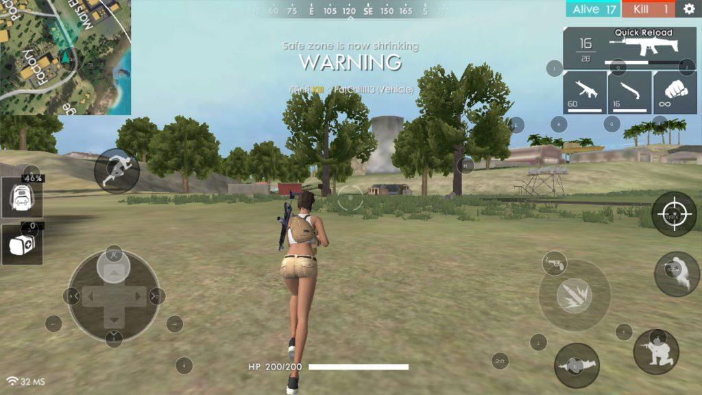 play freefire on nox player 02