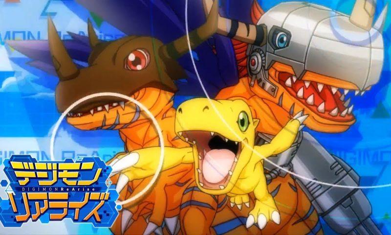 Digimon ReArise เผยภาพแรกตัวละครใหม่พร้อมคู่หูดิจิมอนประจำตัว