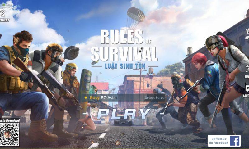 รีวิวเกม Rules of Survival PC เกมแนวพับจีเล่นฟรี สเปคคอมต่ำก็เล่นได้