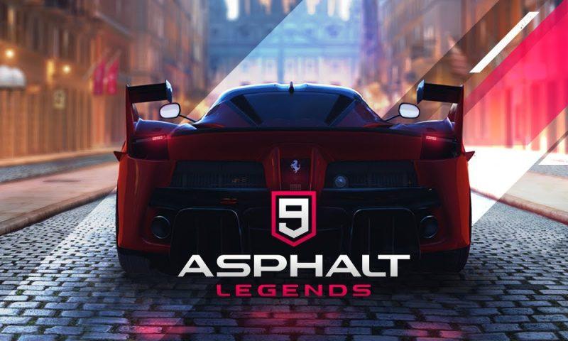 ล้อหมุน Asphalt 9: Legends เรซซิ่งตัวพ่อ เปิด Official บนสโตร์โกลบอล