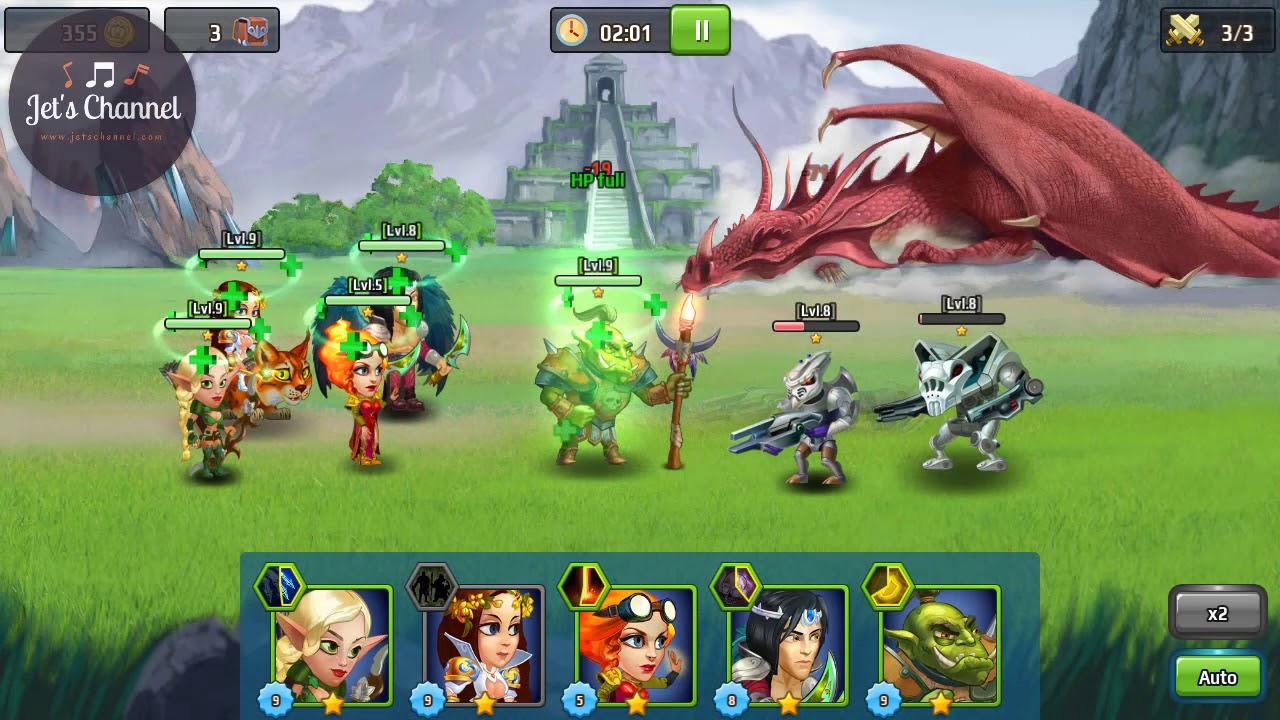 Battle Arena Heroes Adventure 01