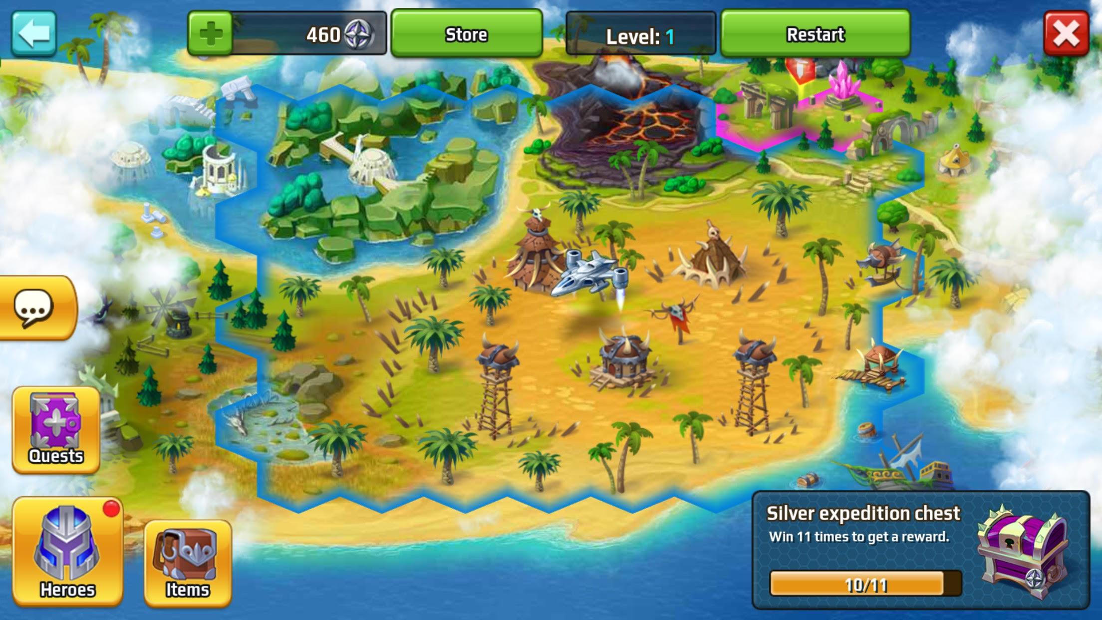 Battle Arena Heroes Adventure 02