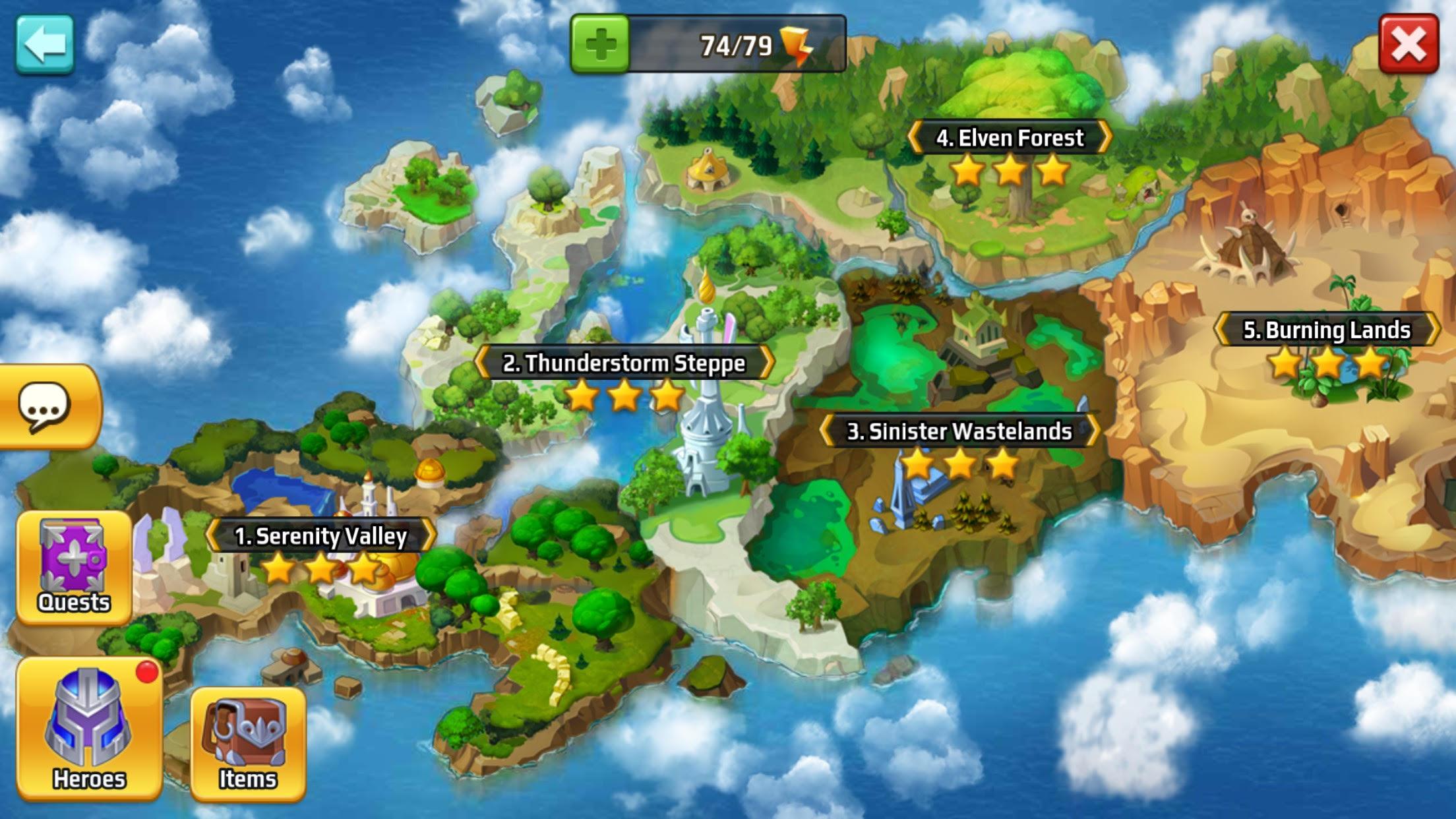 Battle Arena Heroes Adventure 03