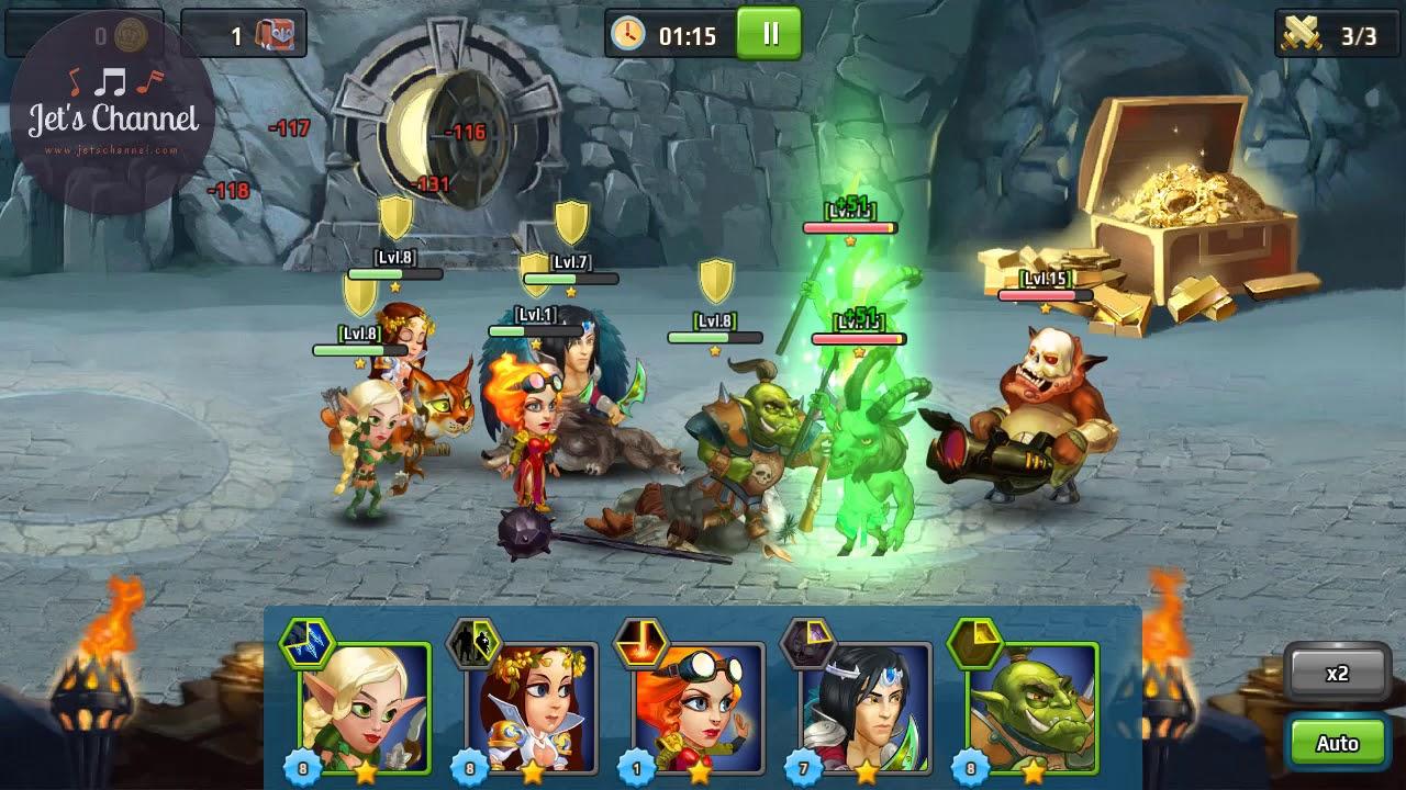 Battle Arena Heroes Adventure 05
