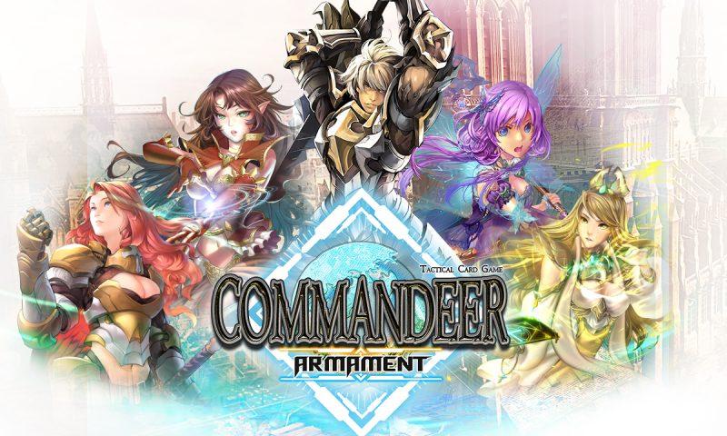 Commandeer Armament เกมการ์ดฝีมือคนไทยพร้อมจั่วแล้ววันนี้