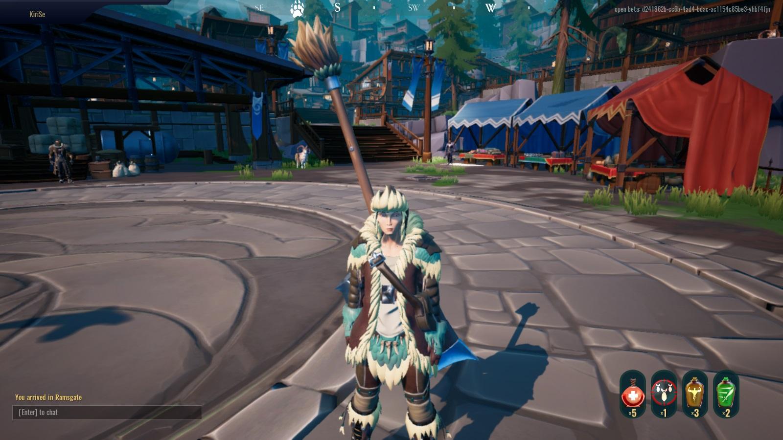 Dauntless axe 762018 01
