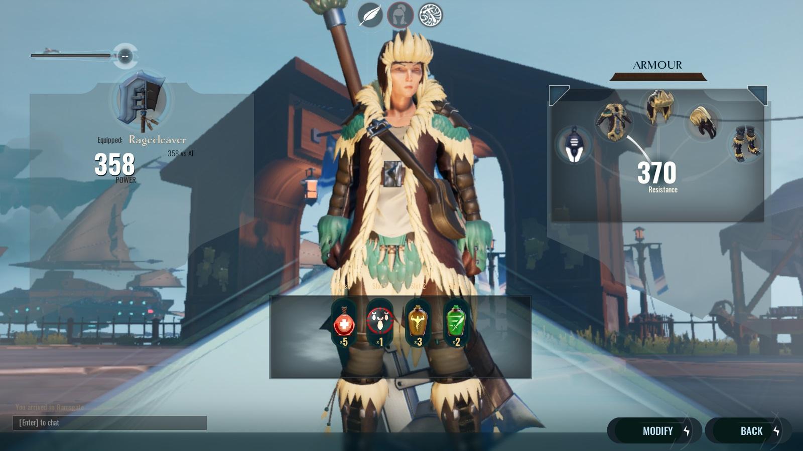 Dauntless axe 762018 04