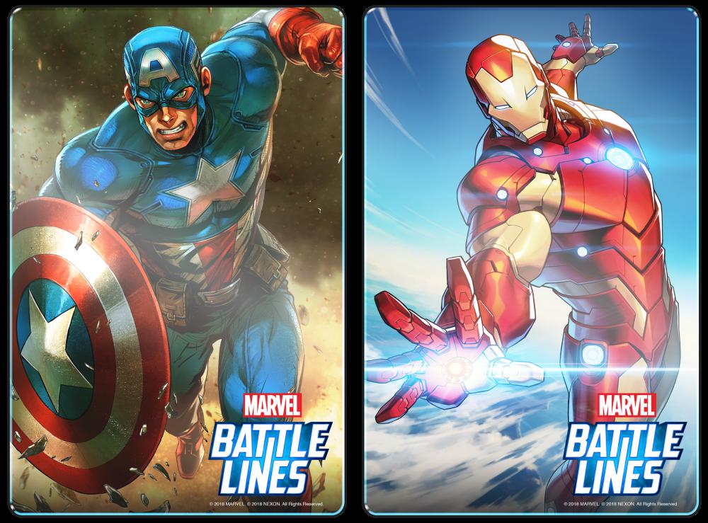 MARVEL Battles Lines 00