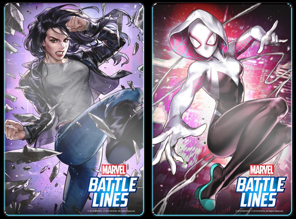 MARVEL Battles Lines 01