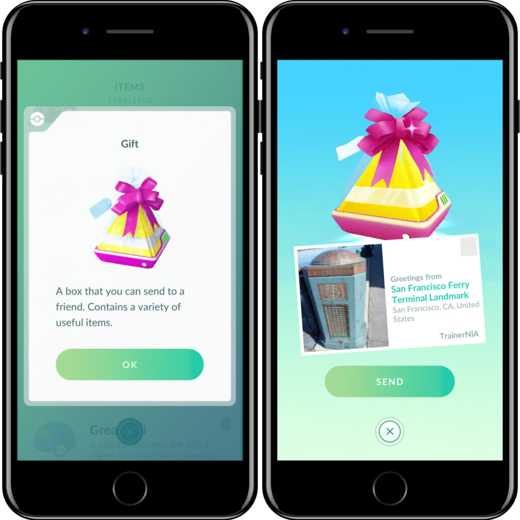 Pokemon GO gift image
