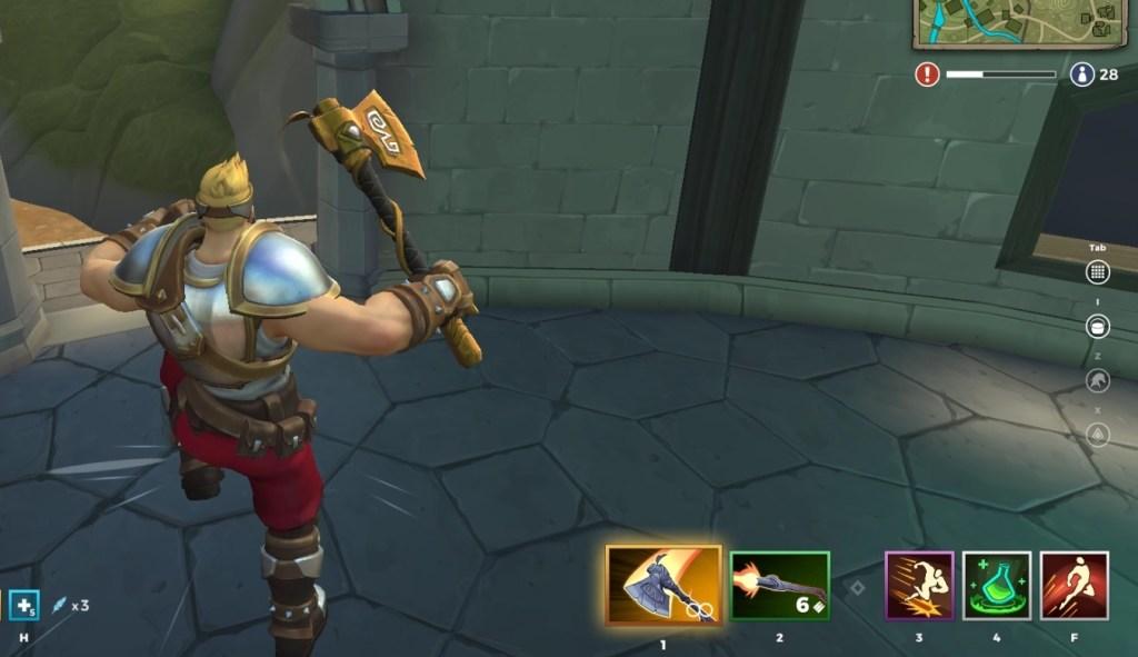 Warrior Axe 2862018