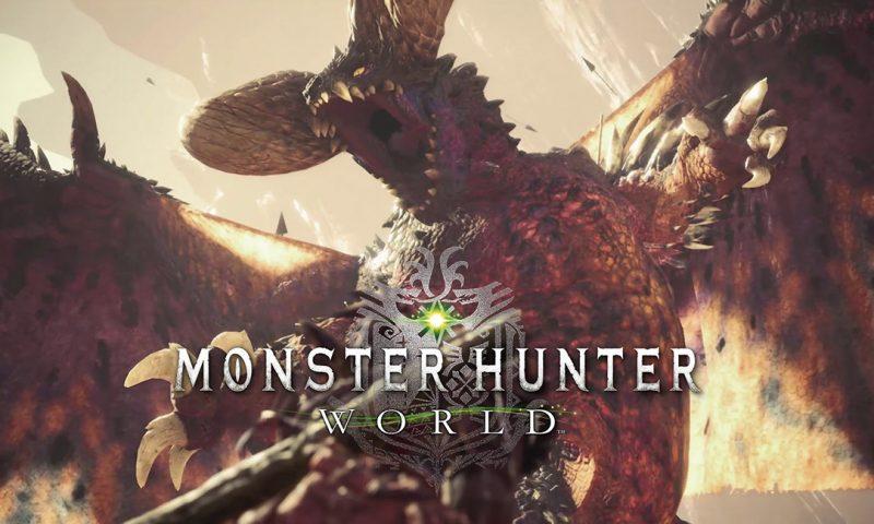 พร้อมมั้ย Monster Hunter World เติมความโหดส่งมังกรยักษ์ตัวใหม่มาถล่ม