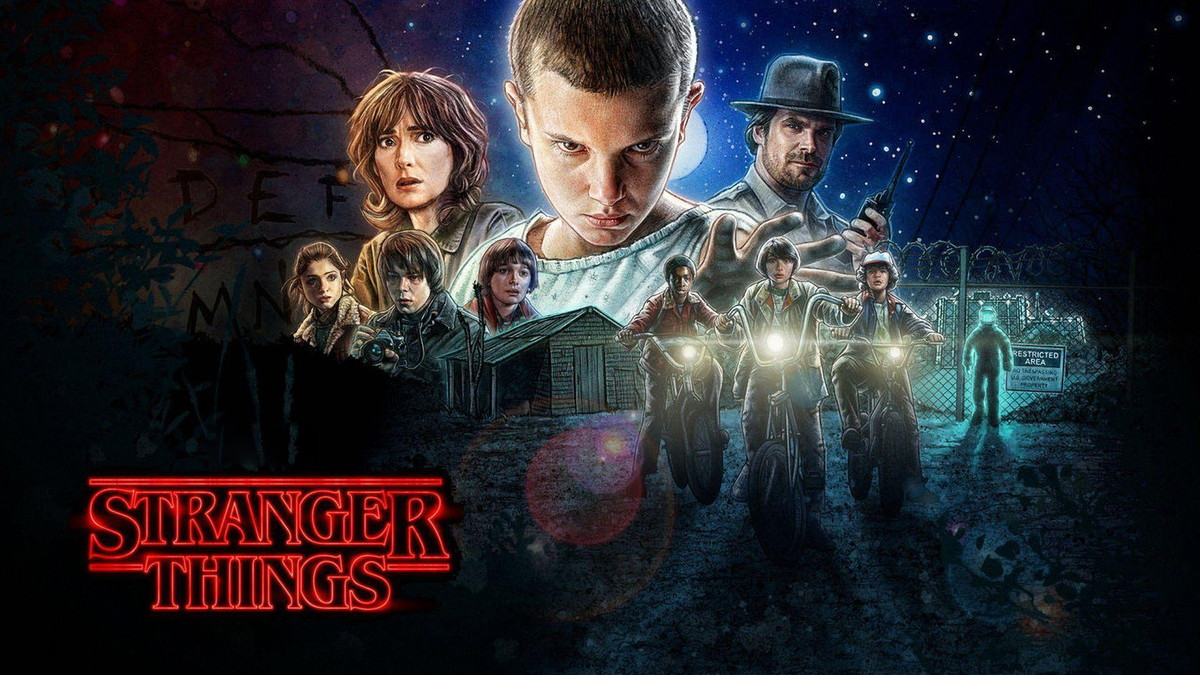 painel stranger things