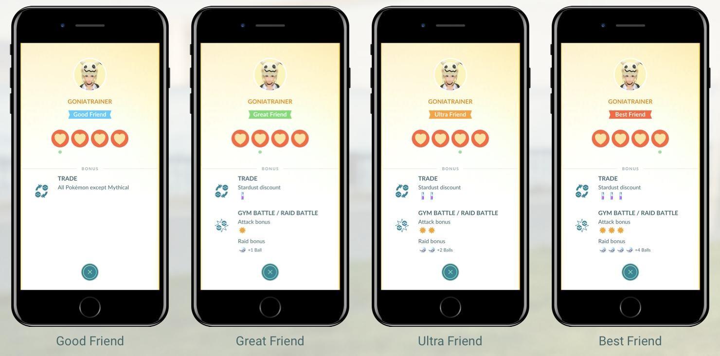 pokemon go screens friend