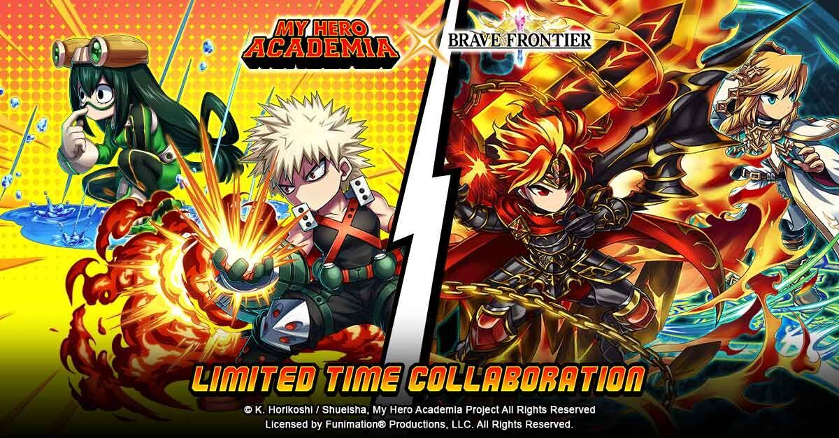 Brave Frontier and My Hero Academia 2