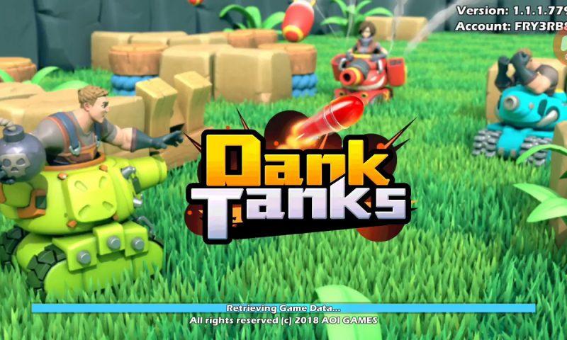 Dank Tanks เกมรถถัง MOBA 3vs3 ลงสโตร์ Android วันนี้
