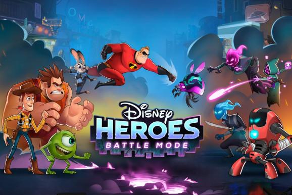 Disney Heroes: Battle Mode เกม RPG รวมฮีโร่การ์ตูน Disney ปะทะ Pixar